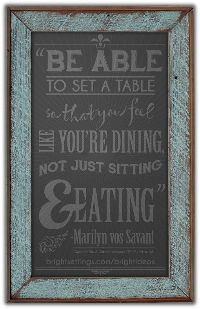 Setting the table quotes quotesgram for Table quotes