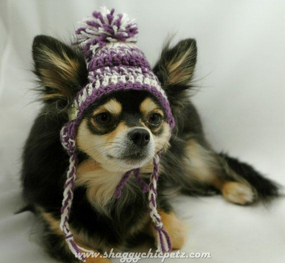 Knitting Pattern Hat With Dog Ears : Free Crochet Dog Hats Dog Breeds Picture