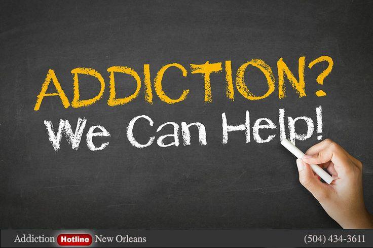 drug addiction hotline New Orleans, Louisiana