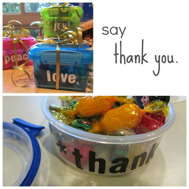Quick and easy inexpensive thank you gifts for teachers teacher