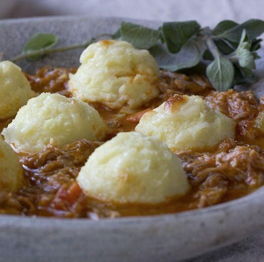 Recipe: Pork Ragu with Semolina Gnocchi - The Kitchn