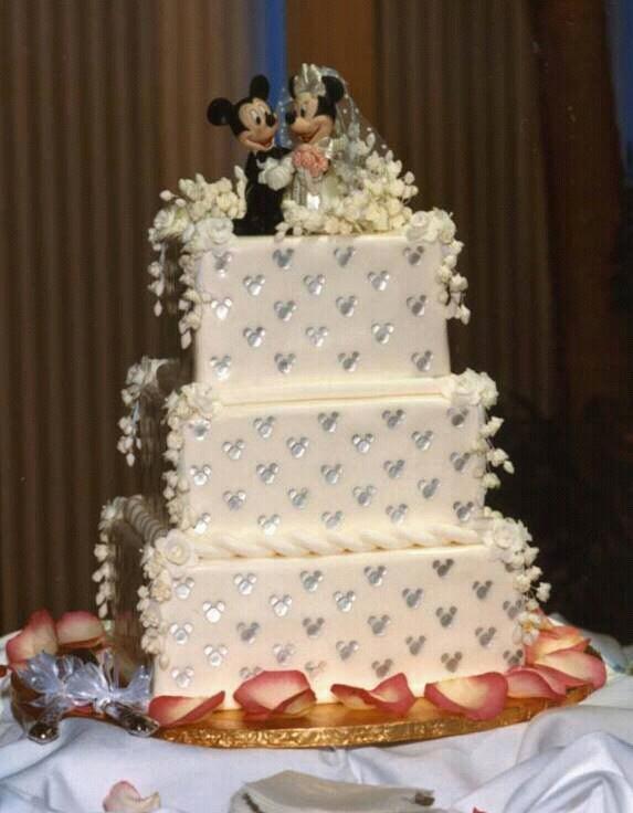 Cake ideas my disney wedding ideas Pinterest