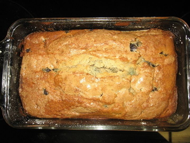 Sour Cream Blueberry Banana Bread | Recipes | Pinterest