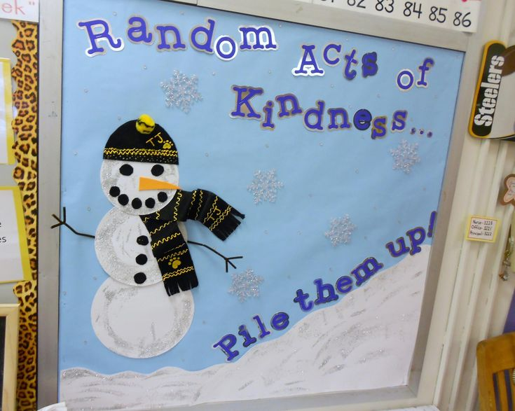 http://www.mpmschoolsupplies.com/ideas/1606/random-acts-of-kindnesspile-them-up-winter-bulletin-board/
