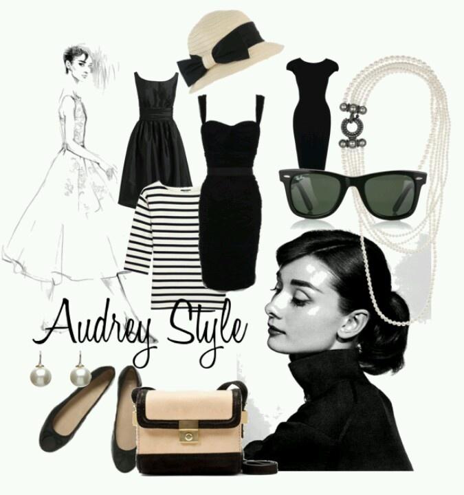 Audrey Style Clothes Pinterest