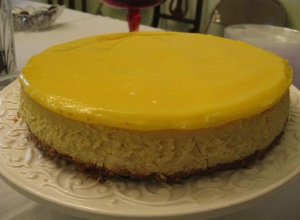 Lemon and Goat Cheese Cheesecake | baking is so much fun... | Pintere ...