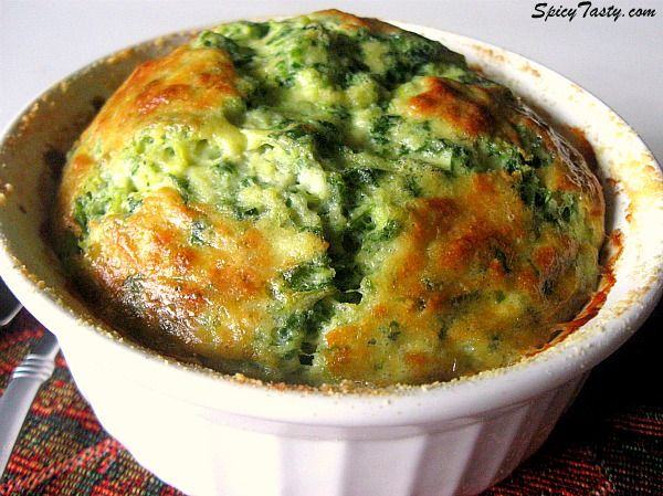 Spinach and Artichoke Souffle | Yummy Treats | Pinterest