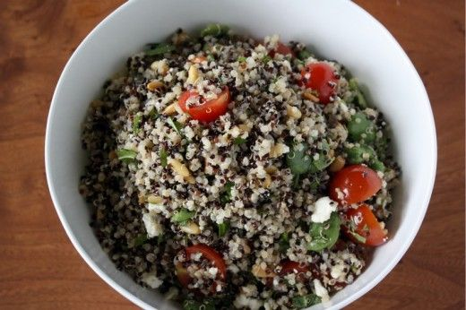 Double Quinoa Salad. | Quinoa | Pinterest