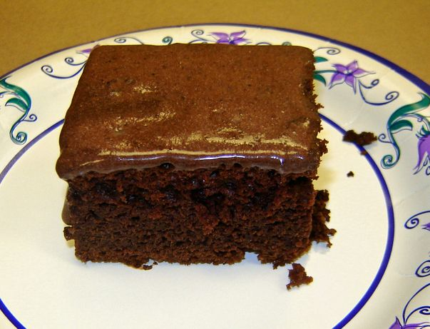 Low Fat Chocolate Kahlua Cake - made this last night for a bday and it ...