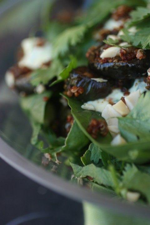 Spiced Eggplant Salad | nomnom | Pinterest