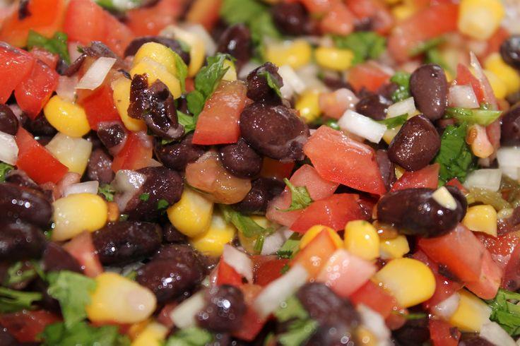 Black bean and corn salsa/salad | food | Pinterest