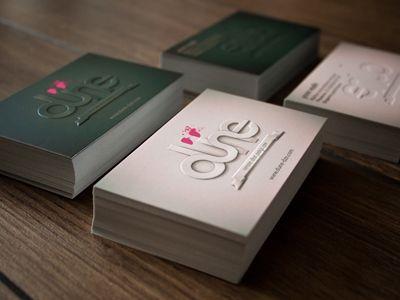 Nice business cards Diseño
