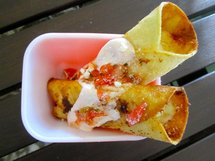 Potato Taquitos - The Chic Site | Recipes | Pinterest
