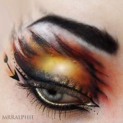 Hunger Games inspired beauty.