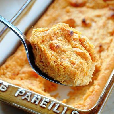 SWEET POTATO SPOON BREAD | Chow Time ~ Breads | Pinterest