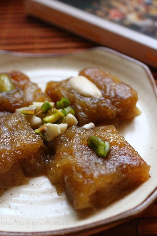 Apple halwa with cinnamon and vanilla | Recipe