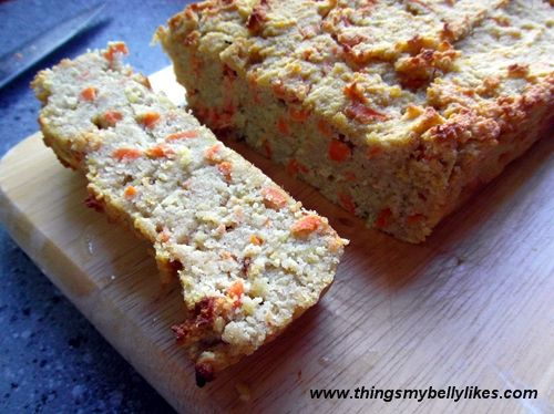 Carrot Squash Bread -- coconut flour, salt, cinnamon, eggs, honey ...