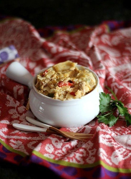 King Ranch Chicken Recipe . #TheTexasFoodNetwork @Chef Shelley Pogue ...