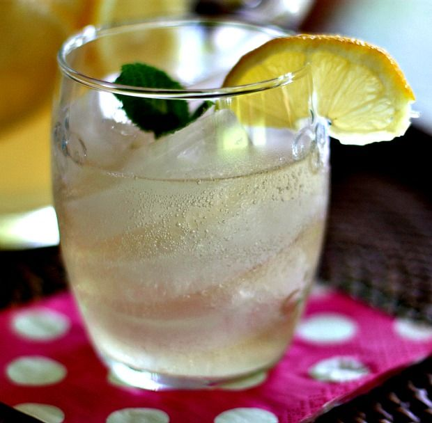 Sparkling Ginger Lemonade | Cocktails, Anyone? | Pinterest