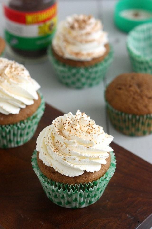 Irish Coffee Cupcakes | cupcakes galore! | Pinterest