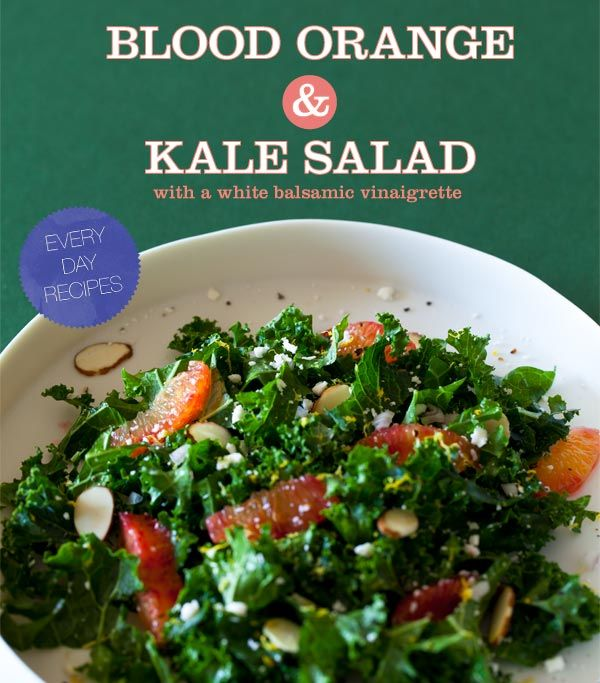 LOVE THIS SALAD!! KALE!!! SUB MANCHEGO CHEESE FOR GOAT CHEESE & USE ...