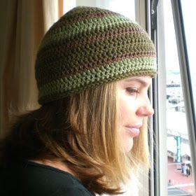 Bandana Heads: Knit and crochet e-patterns for sale