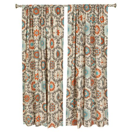 Aqua And Brown Shower Curtain Orange and White Sheer C