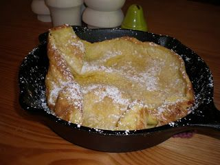 German Pancake With Lemon And Raspberries Recipes — Dishmaps