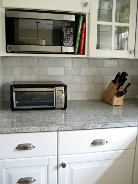tile shop hampton carrara marble subway tile backsplash