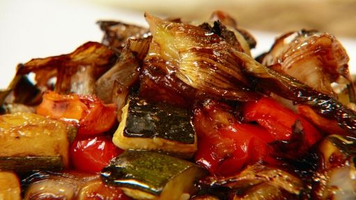 Balsamic Roasted Vegetables | Recipes | Pinterest