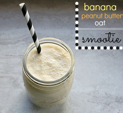 Early Morning Peanut Butter Banana Oatmeal Recipe — Dishmaps