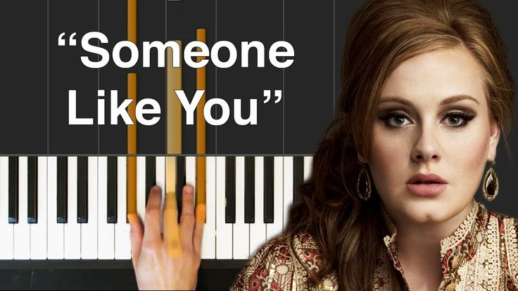 how to play someone like you on the keyboard