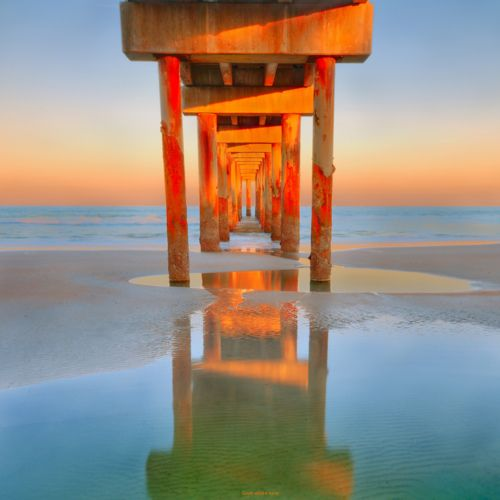 Sunset, St. Augustine Pier, Florida