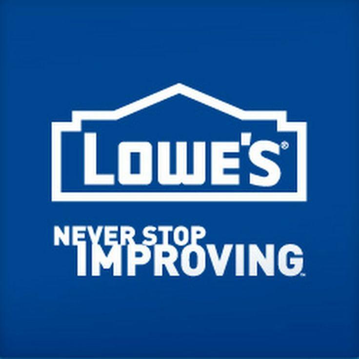 Lowes Home Improvement  DIY ideas  Pinterest