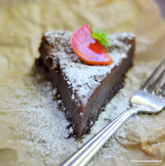 The view from Great Island: Flourless Nutella Cake