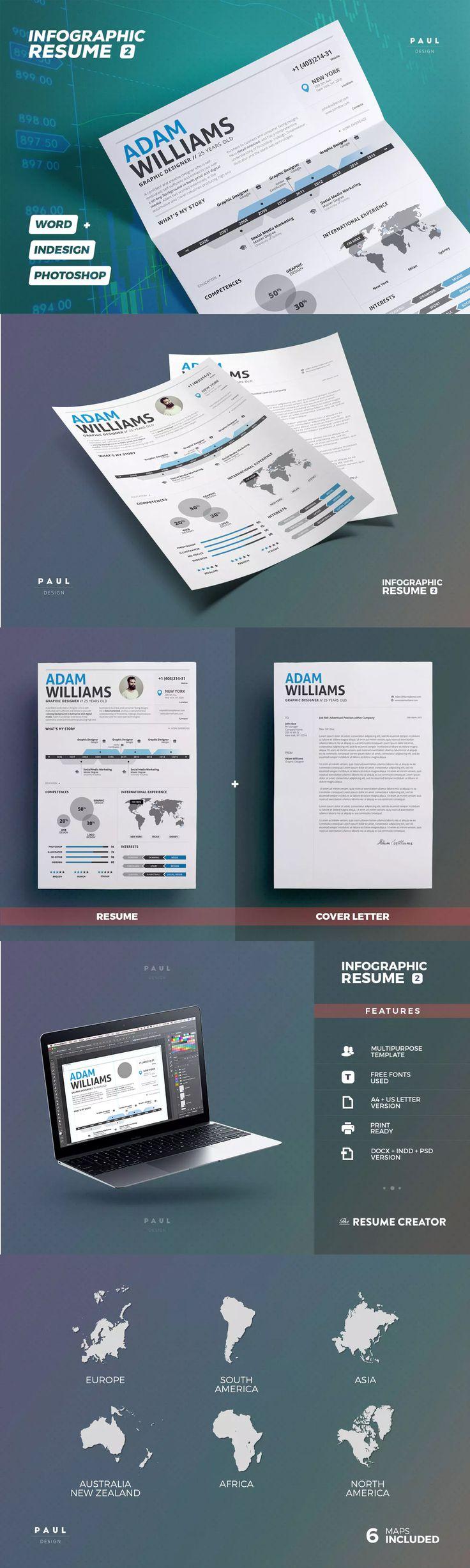 VisualInfographic Resume Examples  VizualResumecom