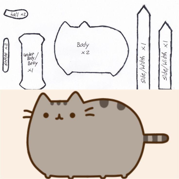 Как сделать кота пушина своими руками 51