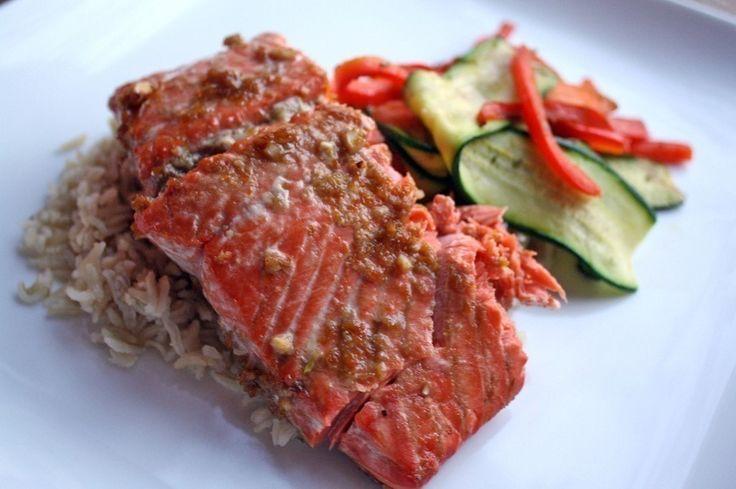 Ginger Orange Roasted Salmon | Random Deliciousness | Pinterest