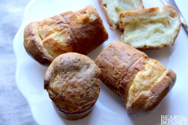Gluten-Free Parmesan Popovers {Beard and Bonnet} #glutenfree