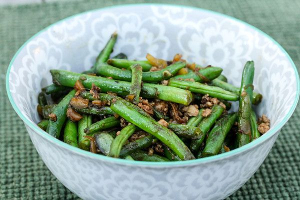 sichuan dry fried long beans recept yummly red onion sichuan dry fried ...