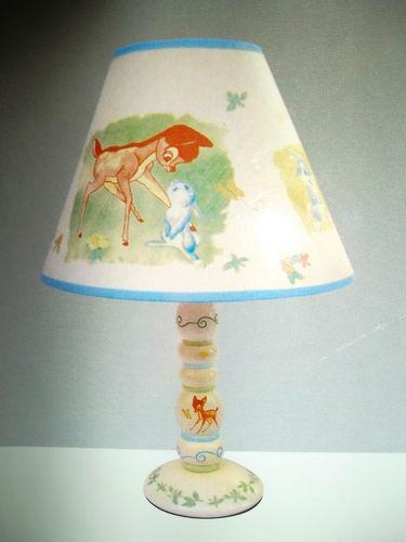 All disney nursery : Bambi baby nursery lamp