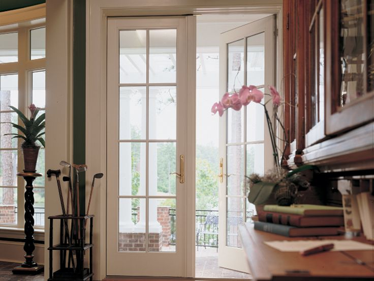 Pin by shelly fearno waterman on home pinterest for Andersen exterior french doors