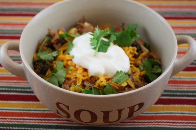 Southwestern Chicken and Black Bean Soup | Soups/Stews | Pinterest