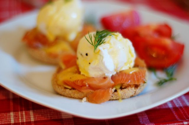 Poached Eggs with Salmon and Avocado | Food | Pinterest