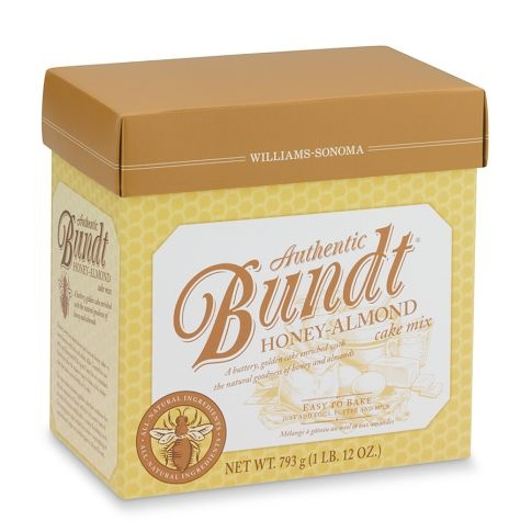 Williams-Sonoma Honey Almond Bundt ® Cake Mix $16.95