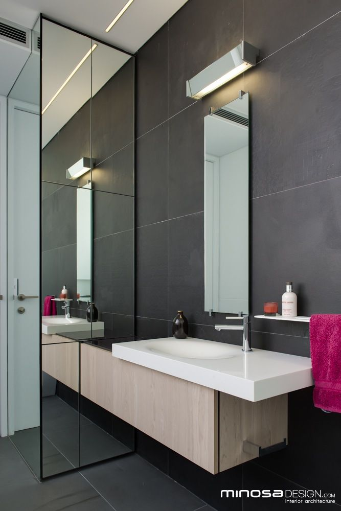 Narrow bathrooms can be effective for the home pinterest