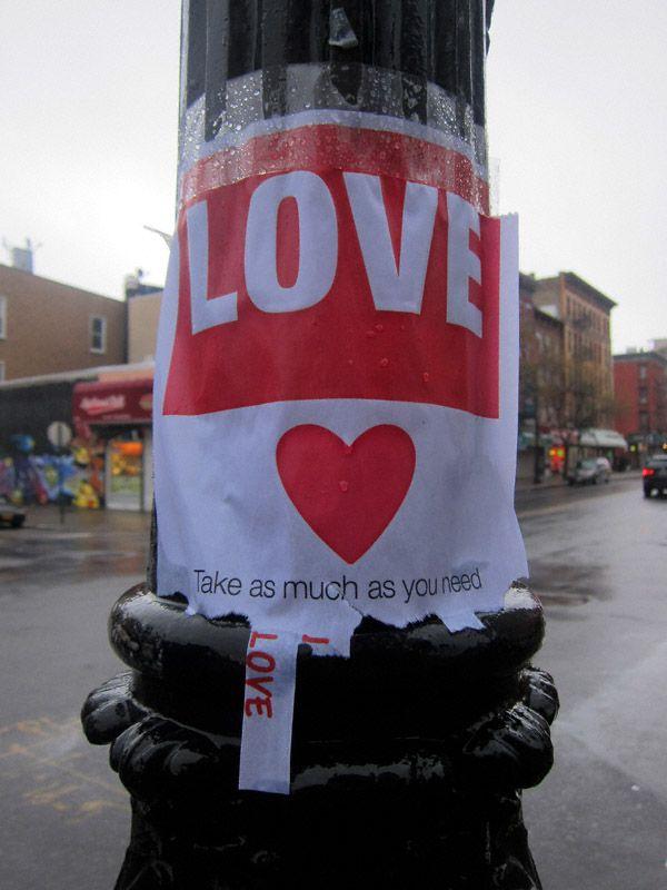 take some love