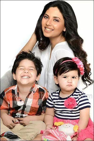 Sunita Marshall with own kids | celebrity kids | Pinterest