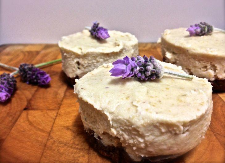 Raw Honey Lavender Cheesecake | Oh baby I like it raw | Pinterest