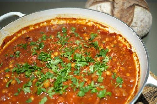 Chorizo & chickpea stew | Tastes to Savour | Pinterest